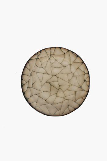 Crackle Ethnic Side Plate