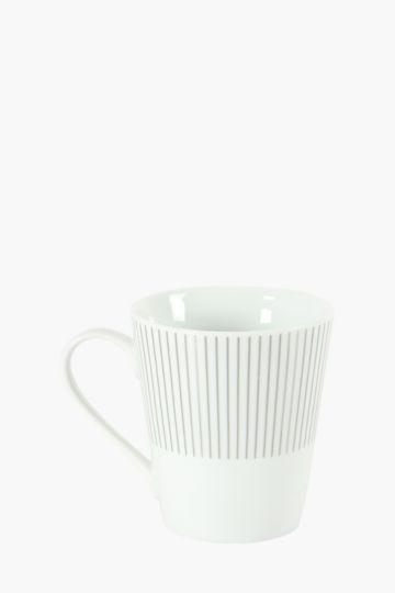 Porcelain Sunburst Mug