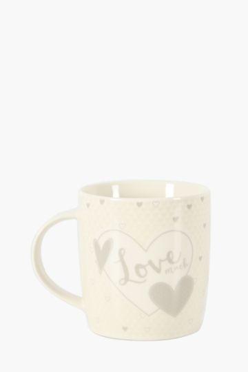 Porcelain Love Mug
