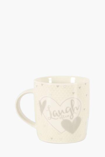 Porcelain Laugh Mug