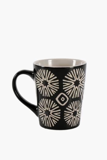 Ethnic Stoneware Mug