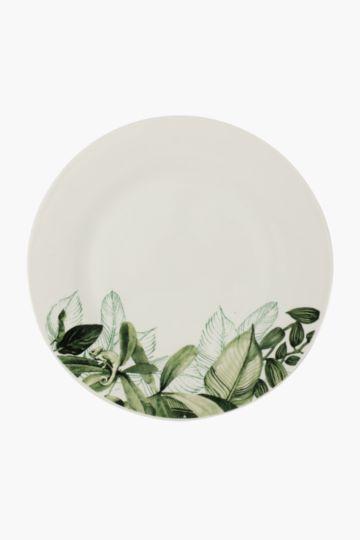 Floral Porcelain Dinner Plate