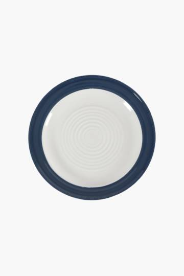 Stoneware Textured Dinner Side Plate