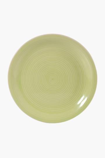 Ceramic Swirl Dinner Plate