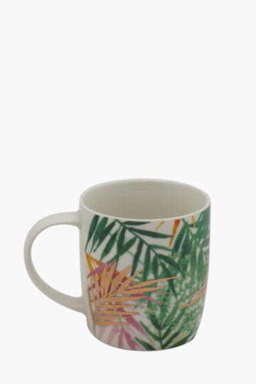 Porcelain Palm Decal Mug