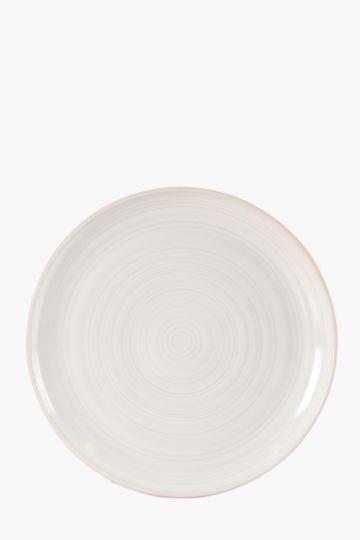 Farmhouse Ribbed Dinner Plate