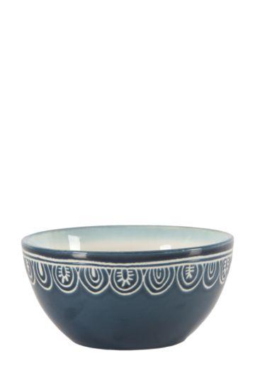 Mediterranean Stoneware Bowl