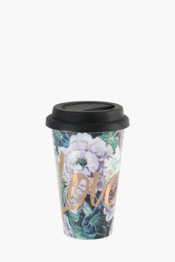 Fleur Rose Travel Mug