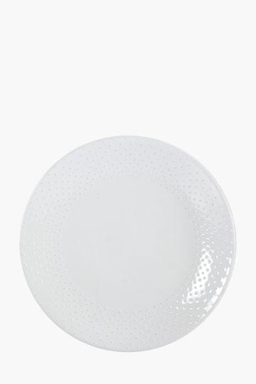 Textured Dot Dinner Plate