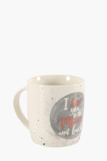 Galaxy Script Mug