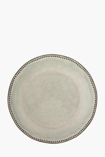 Terracotta Stoneware Dinner Plate
