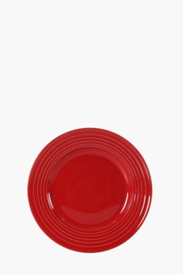 Memphis Glaze Stoneware Side Plate