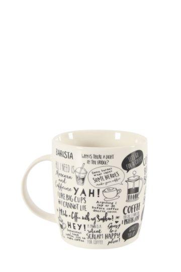 Porcelain Urban Mug