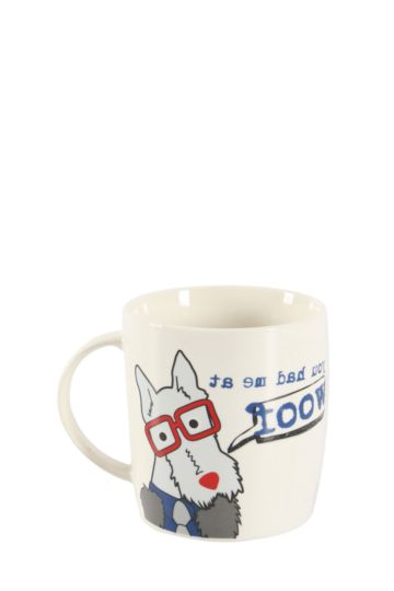 Porcelain Daxie Mug