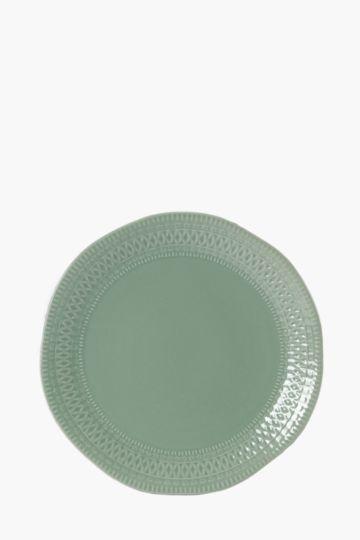 Porcelain Morocco Dinner Plate