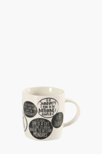 Weekday Mug