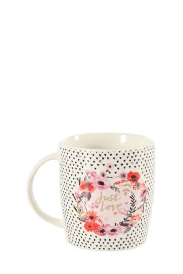 Porcelain Love Mug