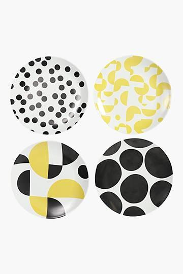 4 Pack Unity Porcelain Side Plates