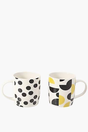 2 Pack Unity Porcelain Mug Set