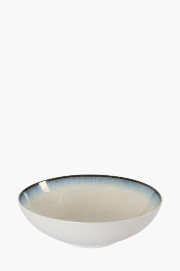 Glaze Stoneware Salad Bowl
