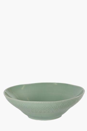 Porcelain Moroccan Salad Bowl