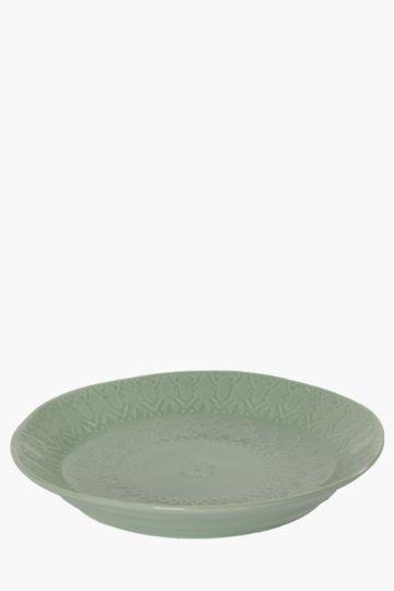 Porcelain Moroccan Platter