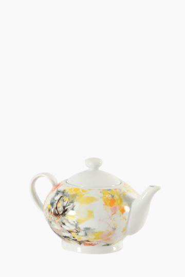 Floral Bunny Tea Pot