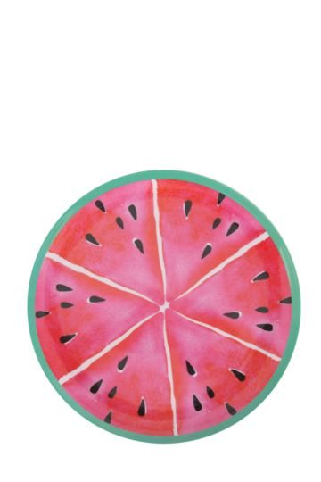 Melamine Watermelon Dinner Plate