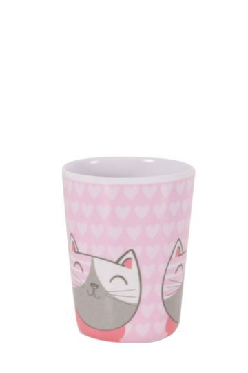 Melamine Kitty Cat Tumbler
