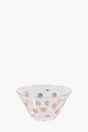 Marbleous Swirl Dot Bowl