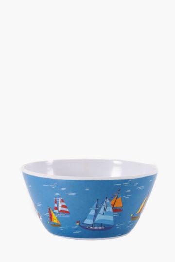 Sail Boats Melamine Bowl