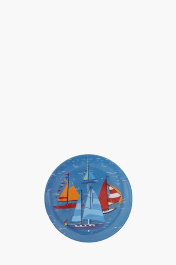 Sail Boats Melamine Plate