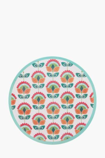 Boho Melamine Dinner Plate