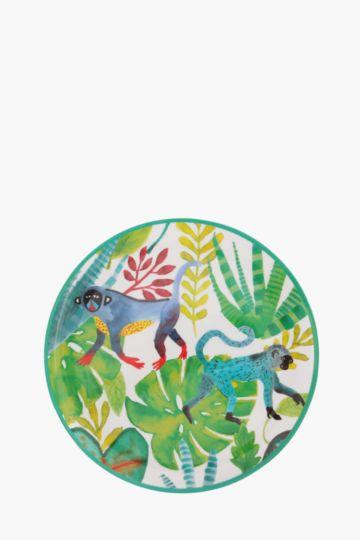 Tropical Melamine Dinner Plate