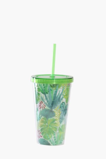 Tropical Plastic Sippy Cup