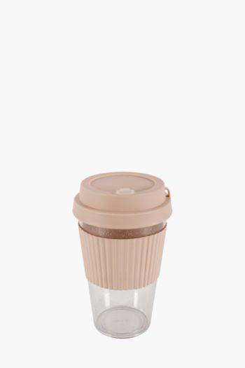 Plastic Travel Mug, 450ml