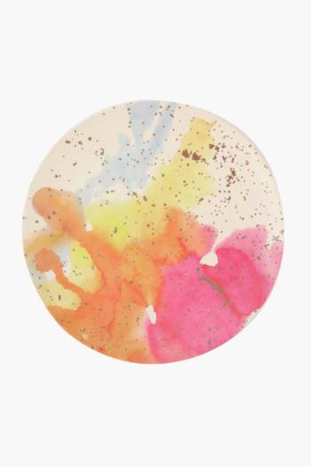 Watercolour Bamboo Dinner Plate