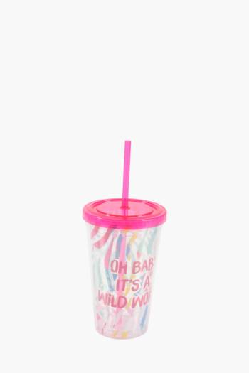 Born Wild Plastic Sippy Cup