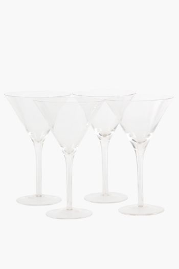 4 Pack Martini Glass