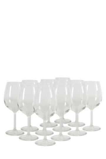 12 Pack Saluti Red Wine Glasses