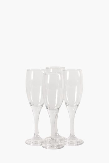 4 Pack Champagne Flutes