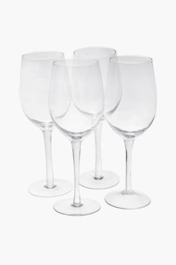 4 Pack Augusta White Wine Glasses