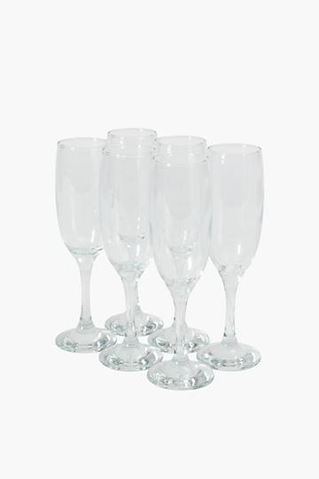 Imperial 6 Pack Champagne Glasses