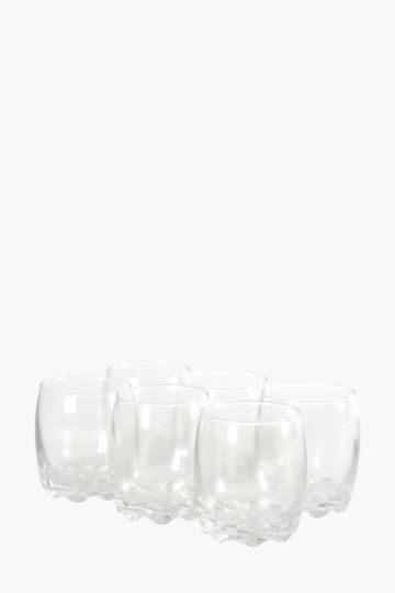 6 Pack Sylvana Whisky Glasses