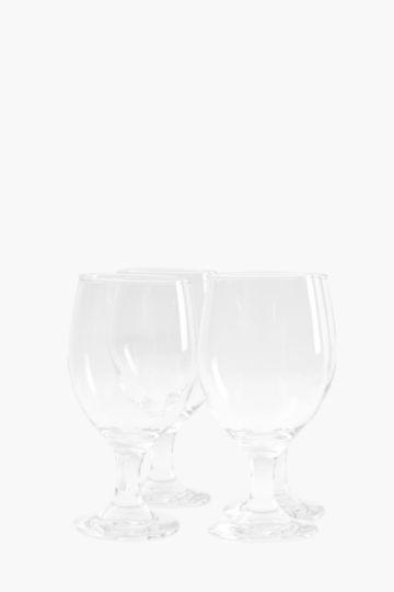 4 Pack Stem Water Glasses