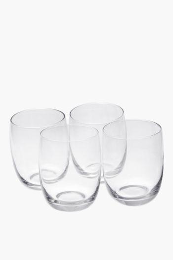 4 Pack Augusta Whiskey Glasses