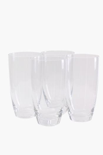4 Pack Augusta Hi Ball Glasses