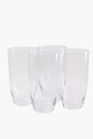4 Pack Augusta Hi Ball Glasses