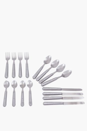 16 Piece Cutlery Set And Tray