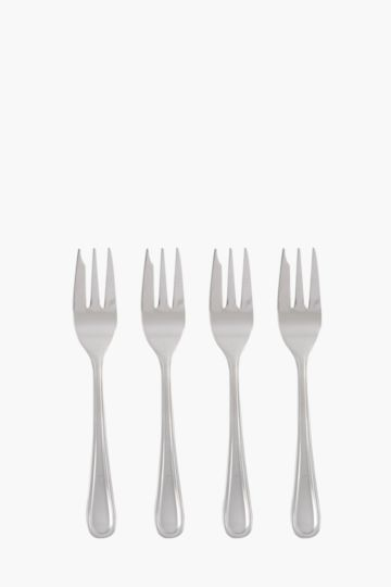 4 Pack Classic Cake Forks